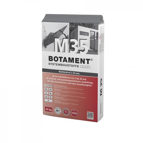 Botament M 35 Multimörtel 25 KG