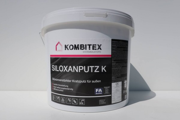 Kombitex Siloxanputz K 25kg weiß