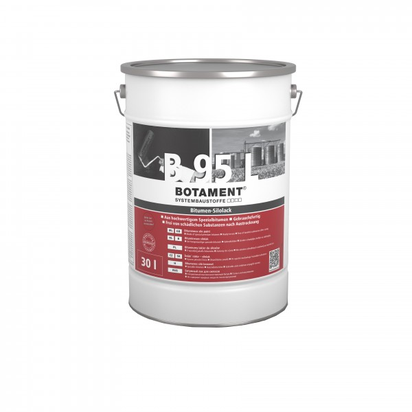 Botament B 95 L Bitumen-Silolack 30 L