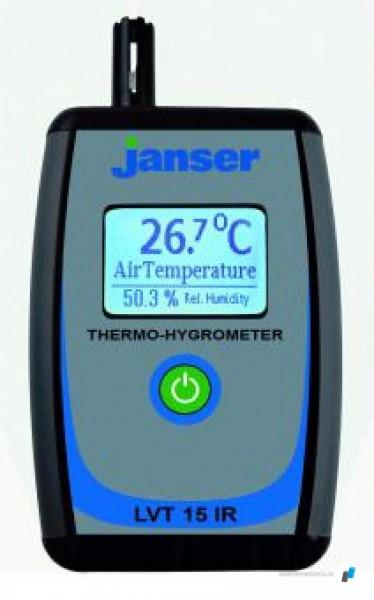 Janser Thermo-Hygrometer LVT-15 IR mit IR-Sensor