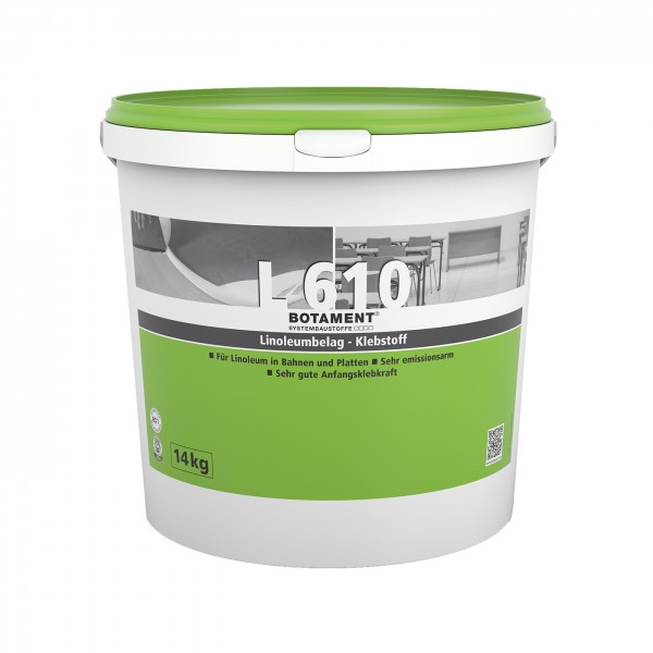 Botament L 610 Linoleumbelag-Klebstoff 14 KG