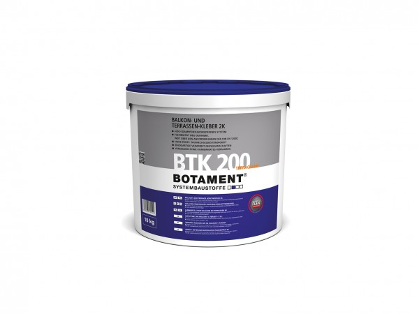 Botament BTK 200 Terrachamp Balkon- und Terrassenkleber 2K 10 KG