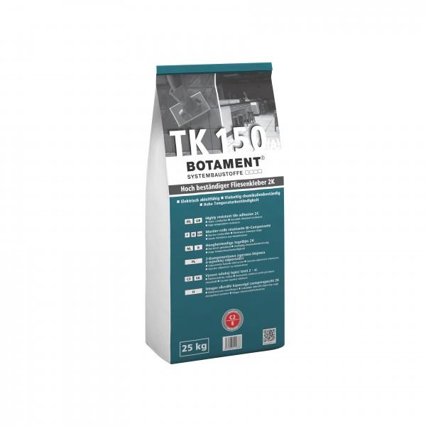 Botament TK 150 Hoch beständiger Fliesenkleber 2K 25 KG