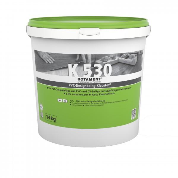 Botament K 530 PVC-Designbelag-Klebstoff 14 KG