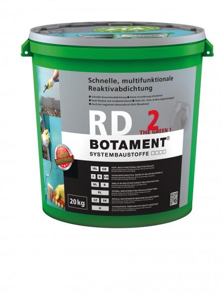 Botament RD 2 The Green 1 Schnelle, multifunktionale Reaktivabdichtung
