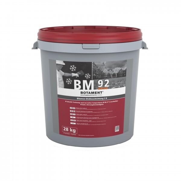 Botament BM 92 Winter Bitumen-Dickbeschichtung 2K 28 KG