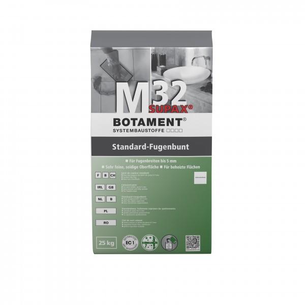 Botament M 32 Supax Standard-Fugenbunt 25 KG