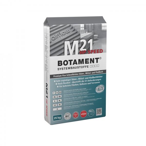 Botament M 21 HP Speed Premium Flex-Schnellkleber Dünn-, Mittel- und Fließbett 25 KG