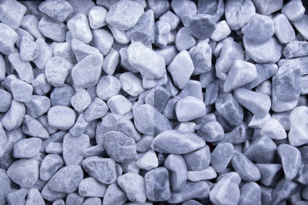 GSH Kristall Blau getrommelt, 25-40 mm (#10190)