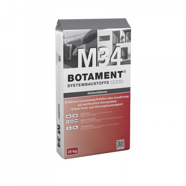 Botament M 34 Dichtschlämme 2