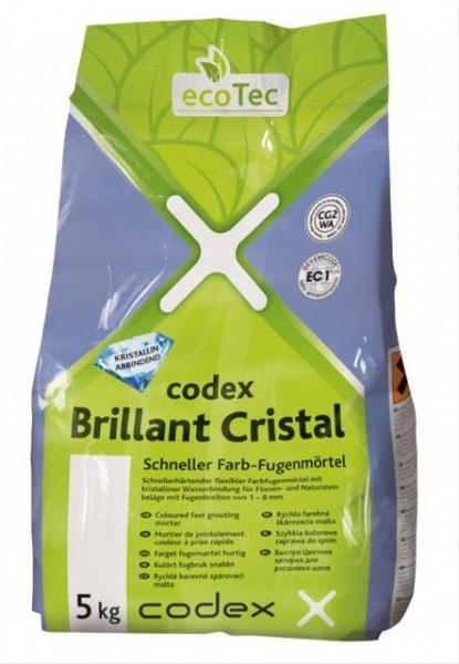 codex Brillant Cristal Schneller Farb-Fugenmörtel