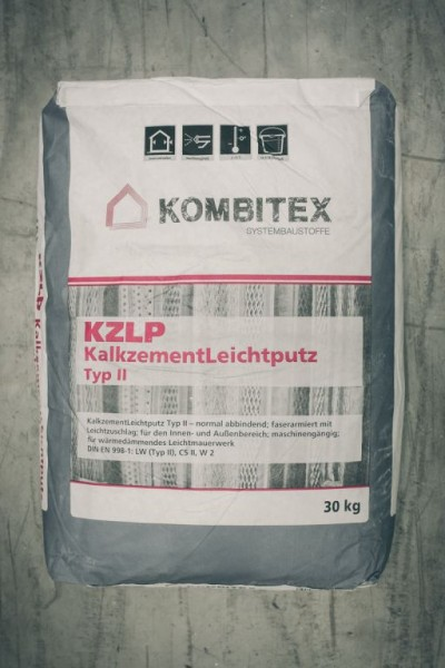 Kombitex KZLP Kalkzement-Leichtputz 30kg Typ2