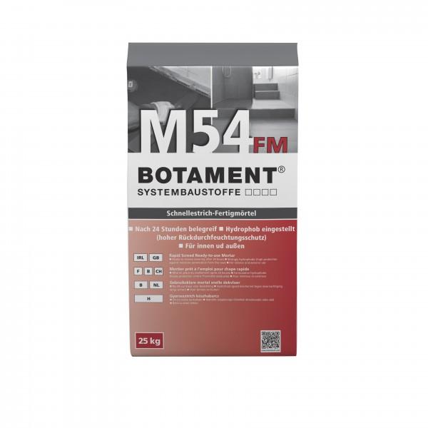Botament M 54 FM Schnellestrich-Fertigmörtel 25 KG