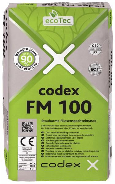 codex FM 100 Staubarme Fliesenspachtelmasse