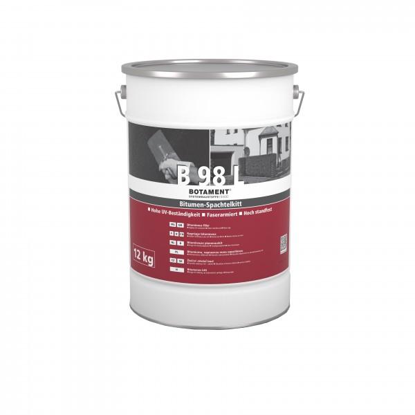 Botament B 98 L Bitumen-Spachtelkitt 5 KG