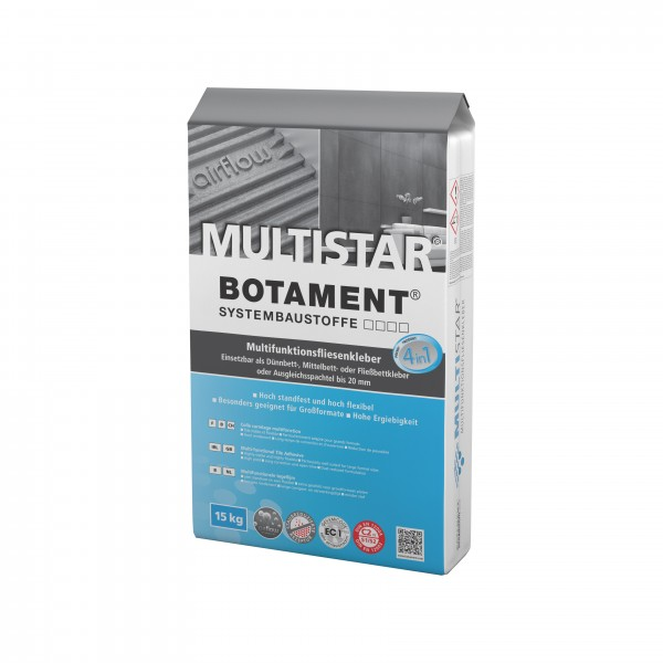 Botament MULTISTAR Multifunktions-Fliesenkleber 15 KG