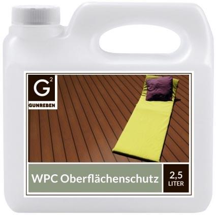 Gunreben G2 WPC Oberflächenschutz 2,5 Liter Gebinde