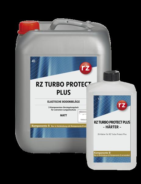 RZ Turbo Protect Plus 2K-Versiegelungslack- A/B matt 4+1 Liter