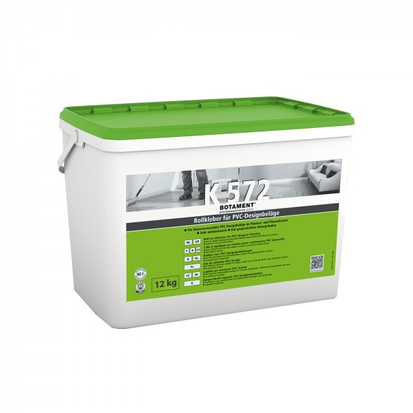 Botament K 572 Rollkleber für PVC-Designbeläge 14 KG