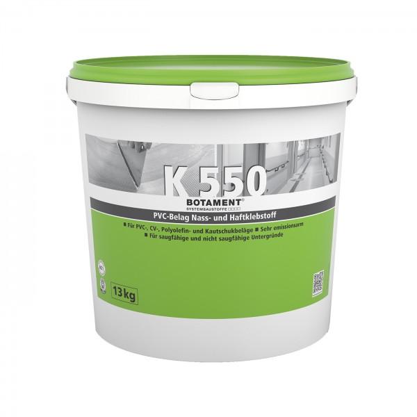 Botament K 550 PVC-Belag Nass- und Haftklebstoff 13 KG