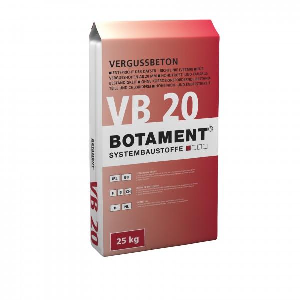 Botament VB 20 Vergussbeton 25 KG
