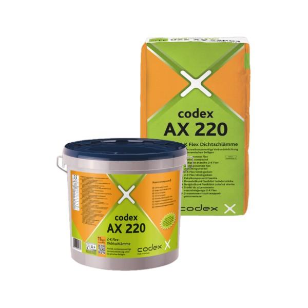 codex AX 220 2-K Flex-Dichtschlämme
