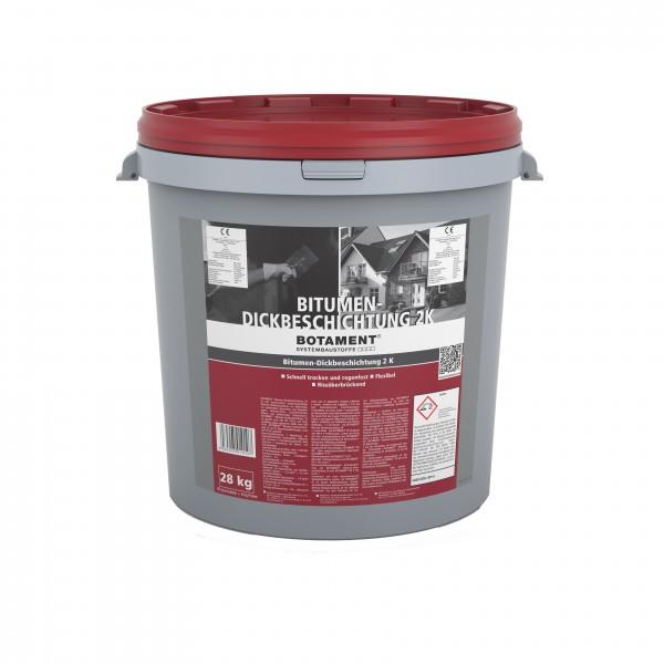 Botament Bitumen-Dickbeschichtung 2K Bitumen-Dickbeschichtung 2K 28 KG