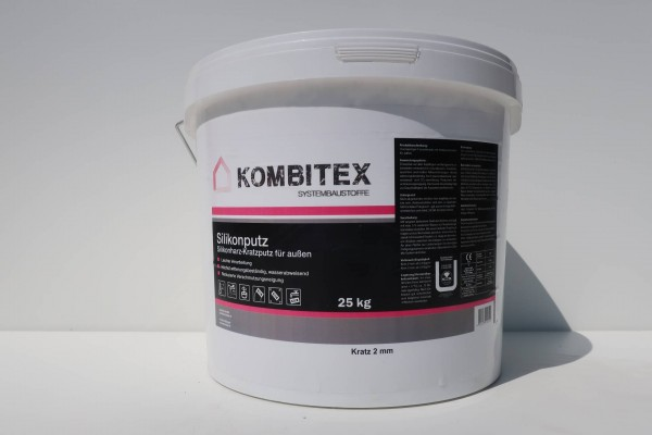 Kombitex Silikonharzputz 25kg weiß