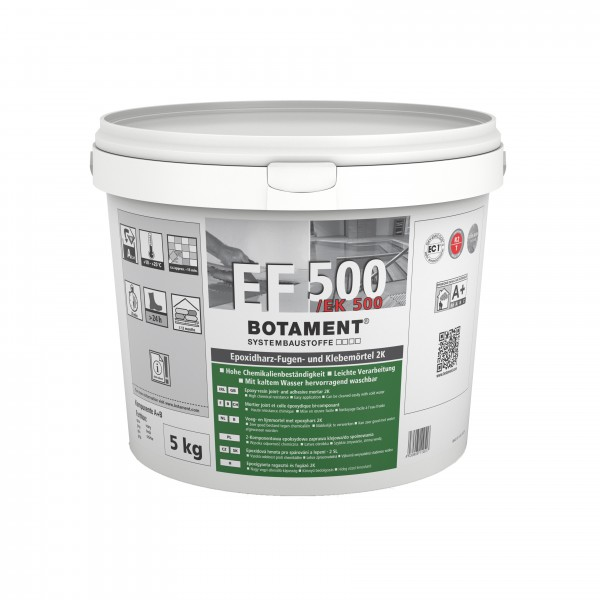 Botament EF 500/EK 500 Epoxidharz-Fugen- und Klebemörtel 2K 5 KG