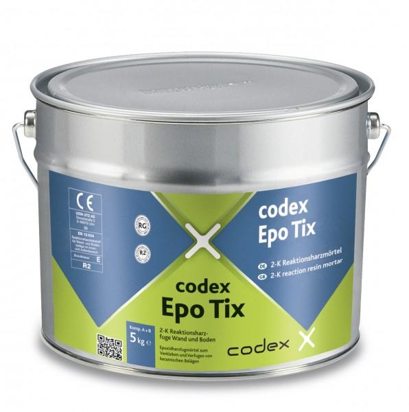 codex Epo Tix 2-K Reaktionsharzmörtel Wand und Boden