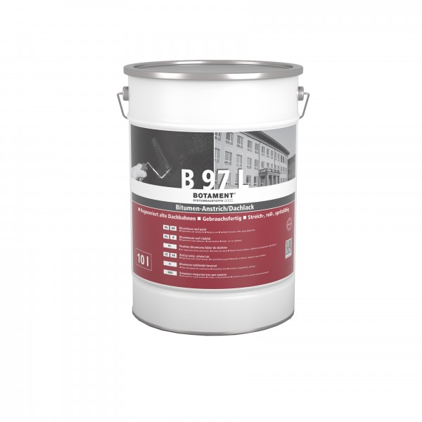 Botament B 97 L Bitumen-Anstrich / Dachlack 10 L