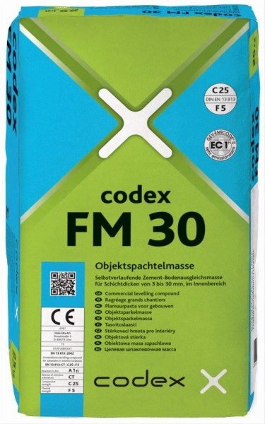 codex FM 30 Objektspachtelmasse